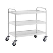Royal Catering Serving trolley - 3 trays - up to 150 kg RCSW-3R