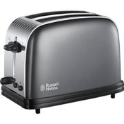Russell Hobbs 23332 Colours Plus Grey 2 Slice Toaster