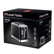 Russell Hobbs Toaster 2 Slices Inspire Black
