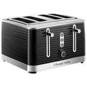 Russell Hobbs Toaster 4 Slices Inspire Black