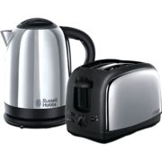 Russell Hobbs Lincoln Kettle And Toaster Twin Pack - 21830