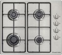 RUSSELL HOBBS RH60GH401SS Gas Hob - Stainless Steel, Stainless Steel