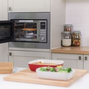 Russell Hobbs RHBM2503 Built-In Combination 900W 25L Digital Microwave - Silver