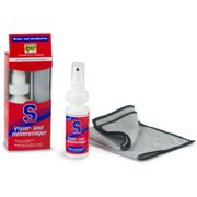 S100 Visor and Helmet Cleaner incl. microfibre cloth