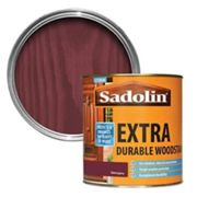 Sadolin Mahogany Conservatories doors & windows Wood stain 1L