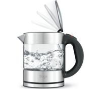 SAGE by Heston Blumenthal Compact Pure BKE395UK Jug Kettle - Stainless Steel & Glass, Stainless Steel