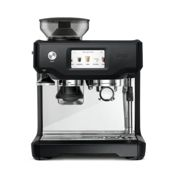 Sage SES880BTR The Barista Touch Coffee Machine, Black Truffle