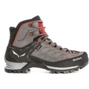 Salewa M Mountain Trainer Mid Gtx® Charcoal - Papavero, Size EU 41 - Mens Gore-Tex® Hiking and Trekking Boots, Color Grey