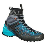 Salewa W Wildfire Edge Mid Gtx® Poseidon - Grisaille, Size EU 41 - Womens Gore-Tex® Hiking and Approach Shoes, Color Blue