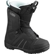 SALOMON Scarlet Black/black/sterling Blue - Snowboard boot - Black - taille 23.5