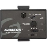 SAMSON Microphone Mobile Wireless Lavalier System GO MIC MOBILE Transmitter+Receiver With USB Audio And 3.5mm Ports Black