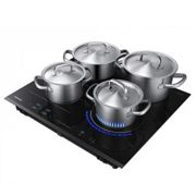 Samsung Black NZ6000K Induction Hob with Virtual Flame and Flex Zone Plus Black