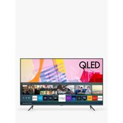 Samsung QE55Q65T (2020) QLED HDR 4K Ultra HD Smart TV, 55 inch with TVPlus, Black