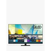 Samsung QE75Q80T (2020) QLED HDR 1500 4K Ultra HD Smart TV, 75 inch with TVPlus/Freesat HD, Black