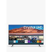 Samsung UE50TU7100 (2020) HDR 4K Ultra HD Smart TV, 50 inch with TVPlus, Silver