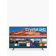 Samsung UE75TU7100 (2020) HDR 4K Ultra HD Smart TV, 75 inch with TVPlus, Silver