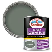Sandtex Exterior 10 Year Satin Paint - Fern Canopy - 750ml