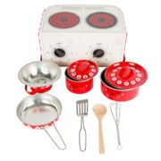 Sass & Belle - Red Daisies Play Cooking Set