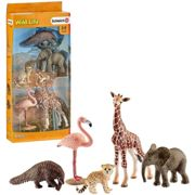 Schleich assorted wild life animals play set for children over 3 years old N/a 4.5 x 13.5 x 30 cm