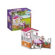 Schleich Horse Club Horse Stall with Lusitano Mare - 42368