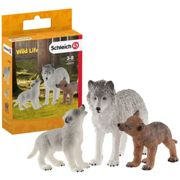 Schleich Wild Life Mother Wolf With Pups 42472 42472