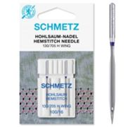 Schmetz Hemstitch / Wing Sewing Needles, Pack of 2