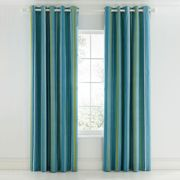 """Scion Mr Fox Lined Curtains 66"""" x 72"""", Teal"""