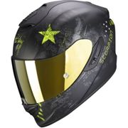 Scorpion EXO-1400 Air Asio Matt Black Neon Yellow XL