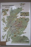 Scotch Whisky Collect and Scratch Map