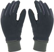 Sealskinz Waterproof All Weather Lightweight Gloves with Fusion Control - Black / Grey / XLarge Black/Grey XLarge