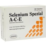 SELENIUM SPEZIAL ACE tablets 180 units
