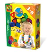 Ses Creative I Learn To Thread Beads Kit Unisex Ages Three To Six Years Mul 14808