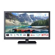 Sharp 1T-C24BE0KR1FB 24 Inch HD Ready LED Smart Freeview Play TV with DVD - Black