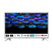 """Sharp 1T-C32BC2KH2FW 32"""" Inch HD Ready Smart LED TV with Freeview HD - White"""