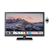 """Sharp 24"""" Inch HD Ready LED Smart TV with Built-In DVD Player and Built-in Wi-FI"""