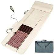 Shiatsu massage mattress - synthetic leather