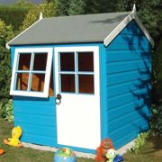 Shire Bunny Wooden Playhouse (4'x4')