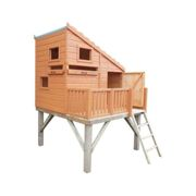 Shire Command Post Playhouse with Platform
