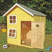 """Shire Croft Two Storey Wooden Playhouse (5'5""""x5')"""