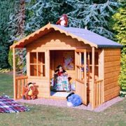 Shire Pixie Playhouse with Mini Veranda and 2 Windows