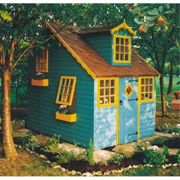 Shire Shire Cottage Playhouse with 5 Windows