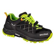 Shoes Salewa Wildfire Wp UK 9 Black Out / Cactus