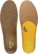 Sidas 3feet Outdoor High Insole Brown - Yellow, Size EU 35-36 - Unisex Footwear Accessory, Color Brown / Yellow