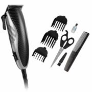 Signature S433 Hair Clippers Stainless Steel Blades/Accessories, Black