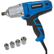 Silverline Silverstorm 400w Electric Wrench 400w - 400w silverstorm electric wrench power tools drills