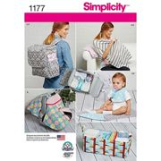 Simplicity Children's Accessories Sewing Pattern, 1177, One Size