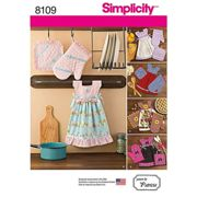 Simplicity Craft Towel Dress and Glove Sewing Pattern, 8109