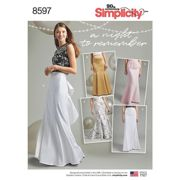 Simplicity Special Occasion Skirts Sewing Pattern, 8597
