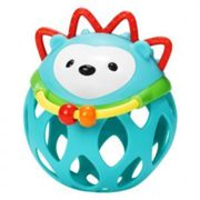 Skip Hop Roll Around Rattle Hedgehog, Blue