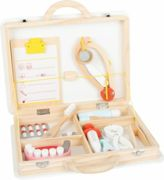 Small Foot Baby doctor case for small dentist 2in1